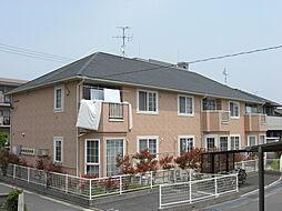 福岡県北九州市小倉南区田原新町3丁目の賃貸アパートの外観