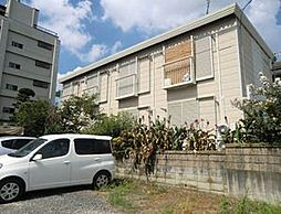 埼玉県東松山市大字岩殿の賃貸アパートの外観