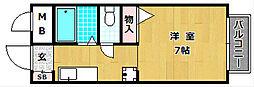 スクエアガーデンA棟[1階]の間取り