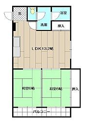 ピロ小倉II[305号室]の間取り