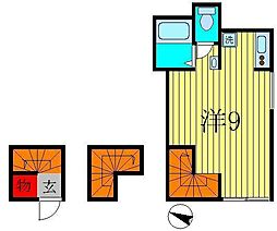 citta金町[3階]の間取り