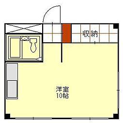 メモリーハウスワンセブン[405号室]の間取り