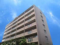 大阪府八尾市山賀町3丁目の賃貸マンションの外観