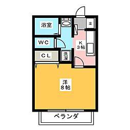 サン・friends小木[2階]の間取り