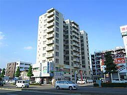 群馬県高崎市東町の賃貸マンションの外観