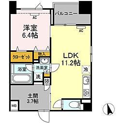 (仮)高島平プロジェクト[303号室]の間取り