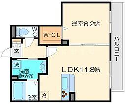 シャーメゾンプランドールK[2階]の間取り