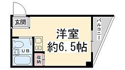上中マンション[205号室]の間取り