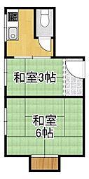 岸里駅 2.6万円