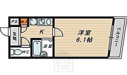 マンションベル[2階]の間取り