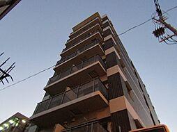 大阪府大阪市東住吉区針中野1丁目の賃貸マンションの外観