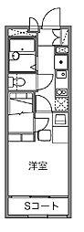フォーブル21A[2階]の間取り