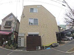 兵庫県西宮市岡田山の賃貸マンションの外観