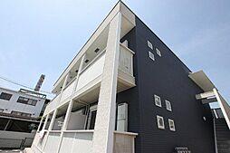 広島県福山市南手城町2丁目の賃貸アパートの外観