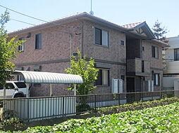 茨城県ひたちなか市松戸町3丁目の賃貸アパートの外観