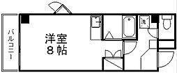新潟県新潟市中央区明石1丁目の賃貸マンションの間取り