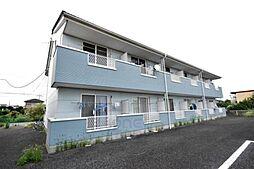 群馬県高崎市下小鳥町の賃貸アパートの外観