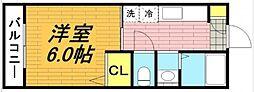 メゾネート戸田公園[2階]の間取り