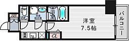 ファーストフィオーレ東梅田[11階]の間取り