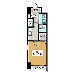 プライマリーステージ[9階]の間取り