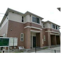 岐阜県羽島市正木町須賀の賃貸アパートの外観