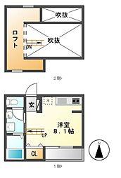 AstorPlace[2階]の間取り