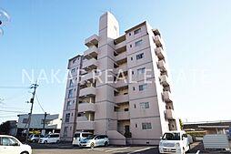 徳島県徳島市川内町金岡の賃貸マンションの外観