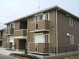 サンモールA[1階]の外観