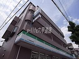 兵庫県神戸市灘区灘南通4丁目の賃貸マンションの外観