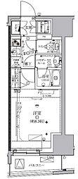 クレイシア板橋モデルノ[11階]の間取り