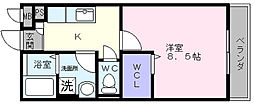 WISTERIA PLACE[3階]の間取り