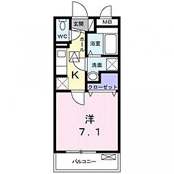 モイキートス[2階]の間取り