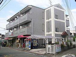 奈良県生駒市中菜畑の賃貸マンションの外観