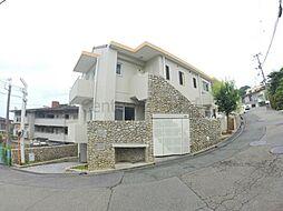 兵庫県宝塚市雲雀丘2丁目の賃貸マンションの外観