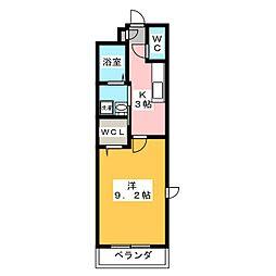 インフィニティ[2階]の間取り