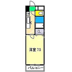 CRAY4[4階]の間取り