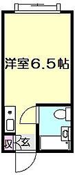 グリーンテラス水奈月III[2階]の間取り