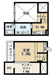 Residencia観音町 (レジデンシアカンノンチョウ)[1階]の間取り