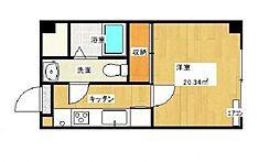 MKMマンション[203号室]の間取り