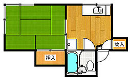 桜ハウス[201号室号室]の間取り