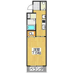 WELL KURAMAGUCHI[1階]の間取り