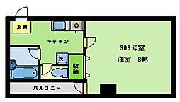 A-1ビル[303号室]の間取り