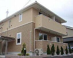 宮崎県宮崎市中村西1丁目の賃貸アパートの外観