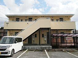 静岡県三島市萩の賃貸アパートの外観