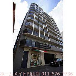 北海道札幌市中央区南十九条西14丁目の賃貸マンションの外観