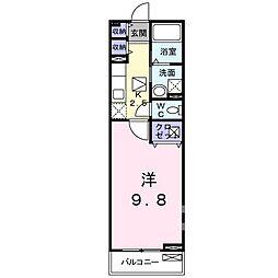 サニー太田[0101号室]の間取り