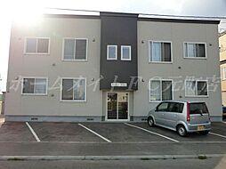 北海道札幌市東区東雁来十条4丁目の賃貸アパートの外観