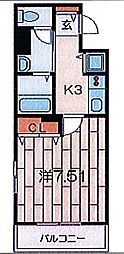 コンフォール南太田[702号室]の間取り