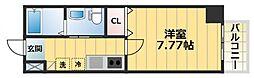ウインズコート城東中央[2階]の間取り