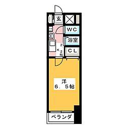 AXIS[8階]の間取り